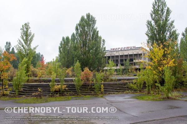 На главной площади в Припяти